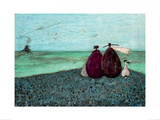 The Same as it Ever Was Poster par Sam Toft