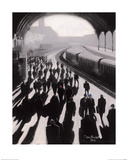 Victoria Station, London - 1934 Kunst af Jon Barker
