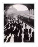 Victoria Station, London - 1934 Art by Jon Barker
