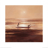 Sinking Sun Prints by Jonathan Sanders