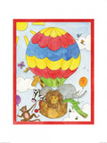 Hot Air Balloon Poster by Milly Green