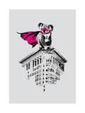 Super Koala Giclee Print by Budi Kwan