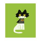 Super Cat Giclee Print by Budi Kwan