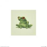Frog Plakater af John Butler Art