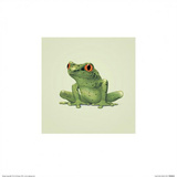 Frog Prints by John Butler Art