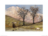 Walking with Mansfield Prints by Sam Toft