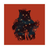 Forest Guardian Giclee Print by Budi Kwan