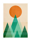 No Mountains High Enough Giclee Print by Budi Kwan