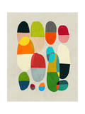Jagged Little Pills Giclee Print by Budi Kwan