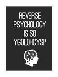 Reverse Psychology Giclee Print by Budi Kwan