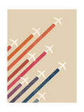 Aerial Display Giclee Print by Budi Kwan