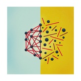 Wired Premium Giclee Print by Mark Weaver