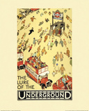 The Lure of the Underground Affiches