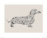 Dachshund Prints by Louise Tate