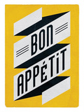 Bon Appetit Poster by Edu Barba