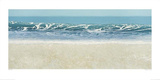Long Wave At Compton Bay Prints by Alexander Slatter