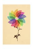 The Windmill in My Mind Giclee Print by Budi Kwan