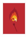 Phoenix Giclee Print by Budi Kwan