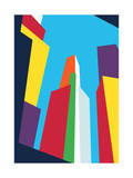 The City Giclee Print by Budi Kwan