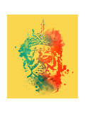 King of the Jungle Giclee Print by Budi Kwan