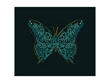 Mechanic Butterfly Giclee Print by Budi Kwan
