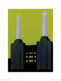 Battersea Power Station Poster by Jennie Ing