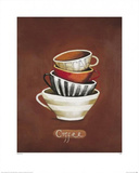 Coffee Prints by Nicola Evans