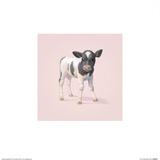 Mucca, in inglese Stampa di John Butler Art