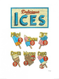 Delicious Ices Prints by Barry Goodman