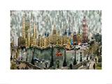 Londres II Print by Serge Mendjisky
