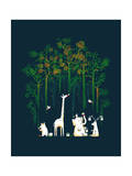 Repaint the Forest Giclee Print by Budi Kwan