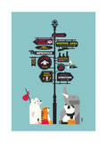 Nowhere Home Giclee Print by Budi Kwan