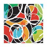 Abstract Orbit Giclee Print by Budi Kwan