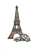 Paris Print by Jane Foster