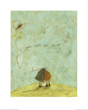 I Just Can't Get Enough of You Print by Sam Toft