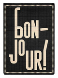 Bonjour Prints by Edu Barba
