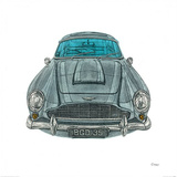 Aston Martin Posters by Barry Goodman