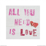 All You Need Is Love Art by Howard Shooter