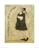 I Remember Our First Dance Affiches par Sam Toft