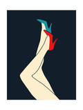 Shoes Giclee Print by Budi Kwan