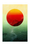 In the End the Sun Rises Giclee Print by Budi Kwan