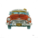 Cuban Taxi Prints by Barry Goodman