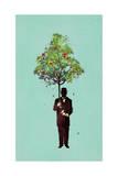 Ethical Gentleman Giclee Print by Budi Kwan