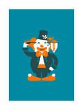 Go with a Bang Giclee Print by Budi Kwan