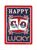 Happy Go Lucky Prints by Mary Fellows