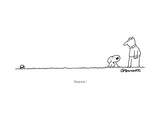 """Good arm."" - New Yorker Cartoon Premium Giclee Print by Charles Barsotti"