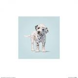 Dog Reprodukcje autor John Butler Art