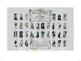 Beauties of To-Day Poster by James Paterson