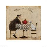 2人でお茶を 高品質プリント : サム・トフト