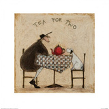 Tea for Two Print by Sam Toft